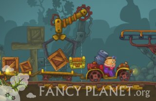 Flash Game Mining Truck 2